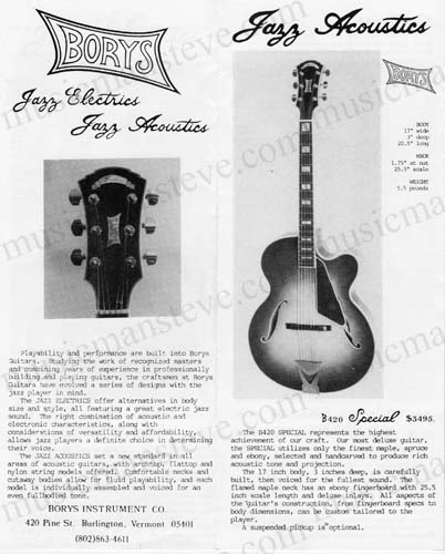 My Vintage Musical Instrument Catalogs on