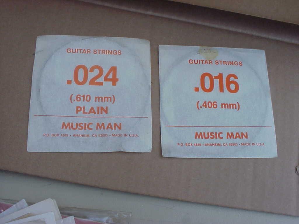 Vintage Guitar Supplies