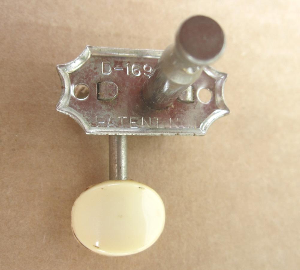 Framus Vintage Nickel Tuners 3 3 Round Plastic knob